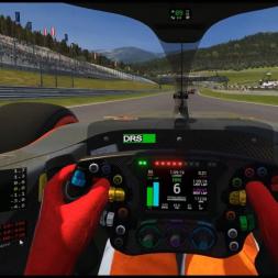 RSS Formula Hybrid 2019 - 20 laps race @ Red Bull Ring Austria - VR recording
