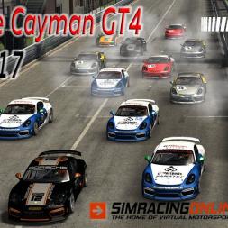 Porsche Cayman GT4 - Pau 2017 - Assetto Corsa - SimRacingOnline.co.uk