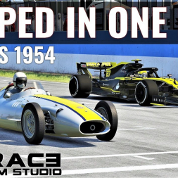 How Much Faster Is F1 Now Than It Was In 1954? | Assetto Corsa | 4K