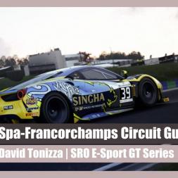 SRO E-Sport GT Series |  Spa-Francorchamps Guide lap with David Tonizza