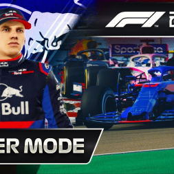 F1 2019 CAREER MODE   BEATING GASLY FOR HIS SEAT