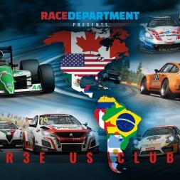 RaceDepartment RaceRoom racing club of Americas