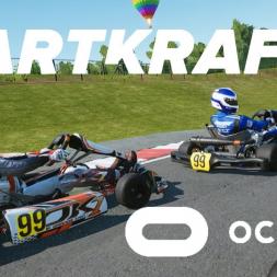 KartKraft VR race at PFi vs salty AI