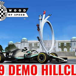 RSS Formula Hybrid 2019 Demo Run | Goodwood Hillclimb | 4K