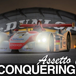 The All Conquering Audi R8 | Assetto Corsa Mod by VRC Modding Team