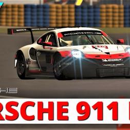 New Le Mans Circuit | Porsche 911 RSR | rFactor 2 | 4K