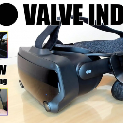 Valve Index VR headset review for Sim Racing