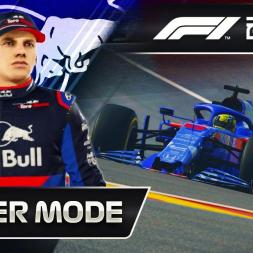F1 2019 CAREER MODE | ME VS VERSTAPPEN!!!!
