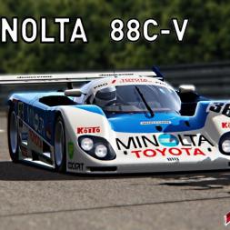 The Legendary MINOLTA Toyota 88C-V Assetto Corsa