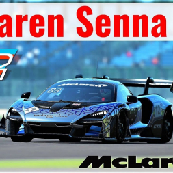 *NEW* McLaren Senna GTR for rFactor 2! | First Drive at Silverstone | 4K