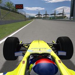 rFactor F1 2000 - M.Gene Minardi-Ford Sepang lap