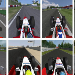rFactor - ALL Toyota F1 OnBoards - 2002/2009