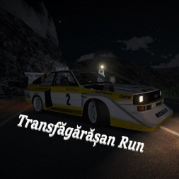 Night Transfagarasan Run In Group B Audi S1