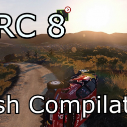 WRC 8 Crash Compilation (PC HD) [1080p60FPS]