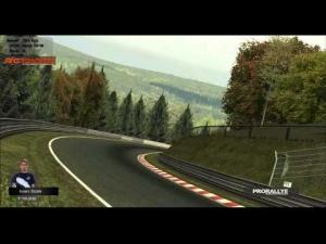 rFactor Ferrari 458 GT3 @ Nordschleife   Hotlap 7:19.202