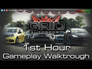 GRID Autosport | 1st Hour Walktrough | PC Gameplay | Open Wheel | Street | Unedited |