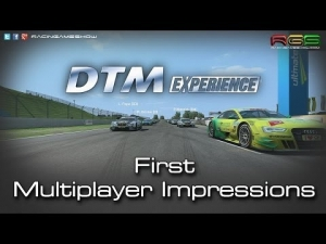 DTM Experience | First Multiplayer Impressions | Online Gameplay