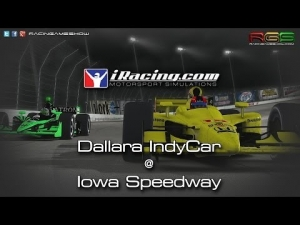 iRacing.com | Dallara IndyCar | Iowa Speedway | Final Laps