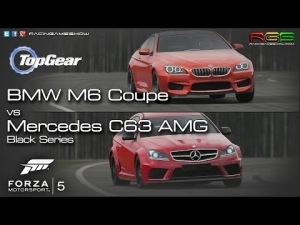 Forza Motorsport 5 | BMW M6 Coupe vs Mercedes C63 AMG | Tope Gear Test Track