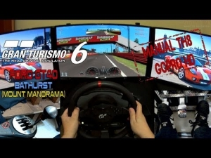 GT6 - Ford Gt40 @ Bathurst (Mount Panorama) (Manual TH8 , T500 Rs ,GoPro HD)