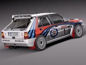 Lancia Delta Integrale WRC - Head to Head - Monaco Dirt 3 HD