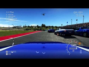 GRID AUTOSPORT gameplay: Grand UTES around Circuit of Americas