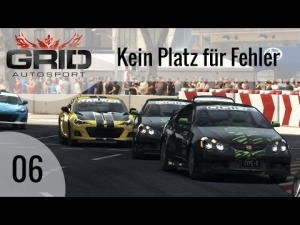 GRID Autosport #06 - Kein Platz für Fehler | Let's Play GRID Autosport [HD]