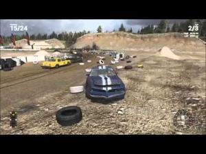 Next Car Game build #5 Sandpit Race
