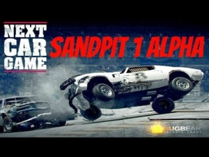 Next Car Game Sandpit 1 Alpha gameplay first look
