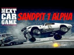 Next Car Game Sandpit 1 Alpha gameplay first look