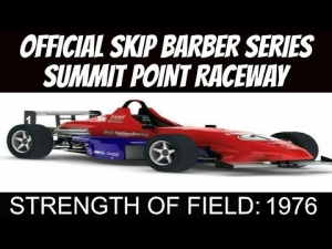 iRacing Official Skip Barber race from Summit Point Raceway #3