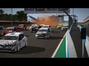 Clio Cup @ Cascavel - Fri 4 July 2014