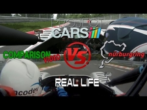 Project Cars Vs Real Life - Nordschleife @ Radical Comparative