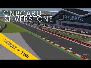 PSRL F1 2013 | British Grand Prix | Balazs Toldi OnBoard