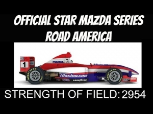 iRacing official Star Mazda series at Road America