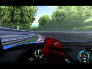The Nordschleife with a Ferrari F40 S3