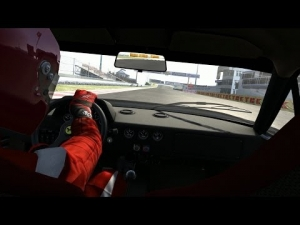 Assetto Corsa Ferrari F40 S3 Pushing at Tsukuba