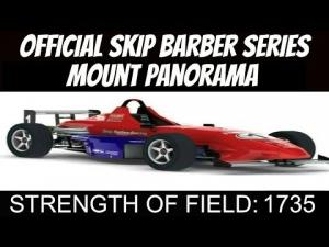 iRacing Skip Barber Official race at Mount Panorama #1 - Great close fair racing