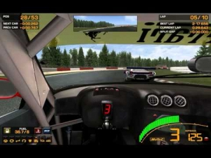 GTR 2: Ferrari 575 GTC @ Spa 10 Lap Sprint Race