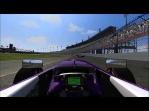 Passing 32 AI at Jacksonville in two laps