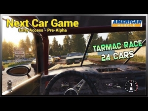 Next Car Game - American Muscle (Race) @ Tarmac Circuit