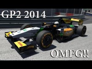Assetto Corsa ,GP2 2014 , OMFG!!!