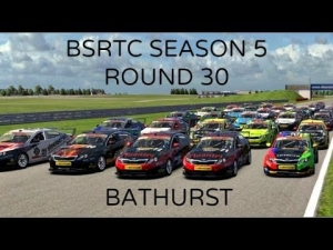 iRacing BSRTC Season 5 Round 30 from Mount Panorama