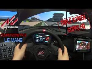 Assetto corsa - Circuit de la Sarthe (Le Mans) @ Competizione P4/5