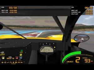 GTR 2: Mazda RX7 @ Paul Ricard HTTT GT 15 Lap Sprint Race