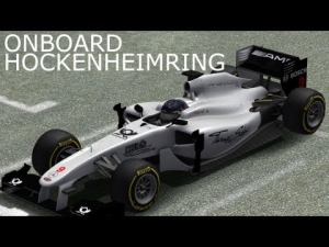 PSRL F1 | Hockenheimring | Test Race | OnBoard