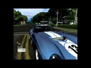 [Test Drive Unlimited] - Shelby Cobra Daytona Coupé - No Challenge - Steering Wheel