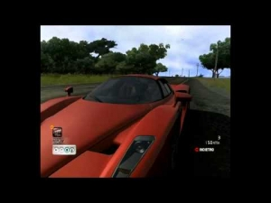 [Test Drive Unlimited] - Enzo Ferrari - Time Attack - Steering Wheel