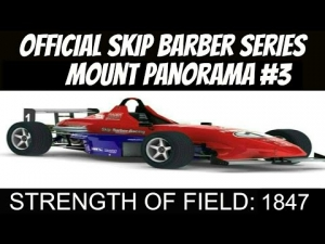 iRacing Official Skip Barber race from Mount Panorama #3 - Not a hill, a mountain