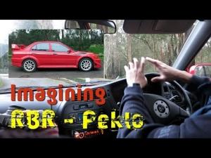 Mitsubishi Evo 6.5 TME real and RBR Peklo